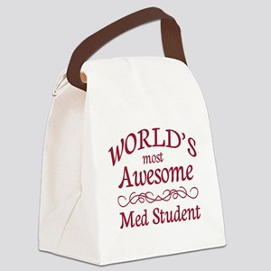 Awesome Med Student Canvas Lunch Bag