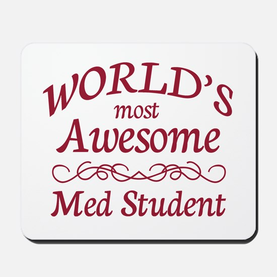 Awesome Med Student Mousepad