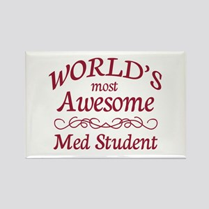 Awesome Med Student Rectangle Magnet (10 pack)