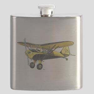 TaylorCraft Airplane Flask