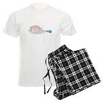 Cowfish fish Men's Light Pajamas