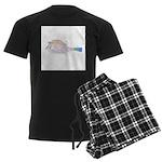 Cowfish fish Men's Dark Pajamas