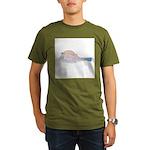 Cowfish fish Organic Men's T-Shirt (dark)