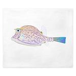 Cowfish fish King Duvet