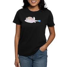 Cowfish fish Women's Dark T-Shirt