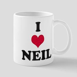 I Love Neil Mug