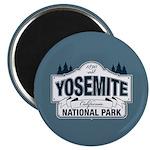Yosemite National Park Mountain Signage Magnet