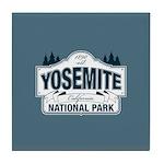 Yosemite National Park Mountain Signage Tile Coast