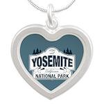 Yosemite National Park Mountain Signage Silver Hea