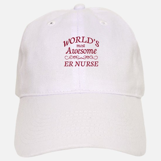 Awesome ER Nurse Baseball Baseball Cap