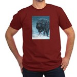 Our Path Men's Fitted T-Shirt (dark)