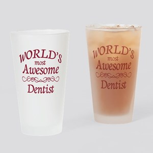 Awesome Dentist Drinking Glass