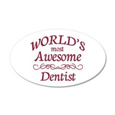 Awesome Dentist Wall Decal