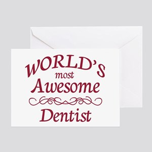 Awesome Dentist Greeting Card