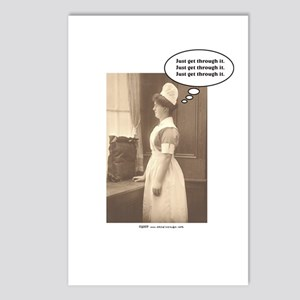 Get Thru Nursing School Postcards (Package of 8)