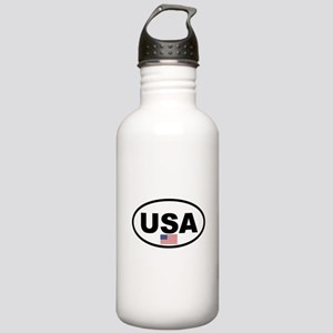 USA 3 Stainless Water Bottle 1.0L