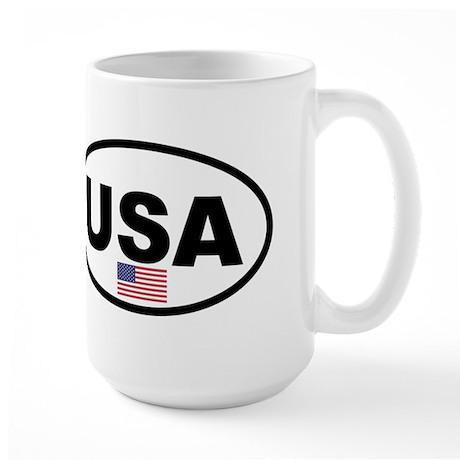 USA 3 Large Mug