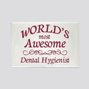Awesome Dental Hygienist Rectangle Magnet