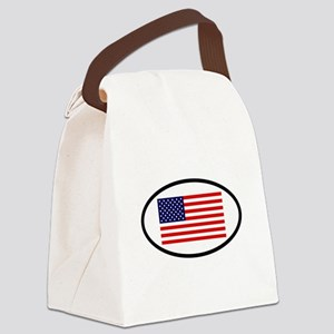 USA 7 Canvas Lunch Bag