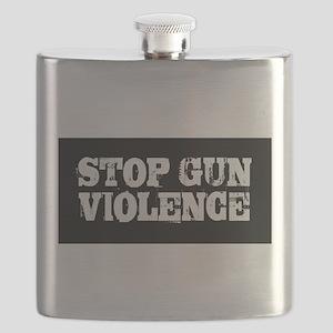 Stop Gun Violence Flask