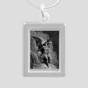 7 Silver Portrait Necklace