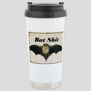 Bat Sh!t Stainless Steel Travel Mug