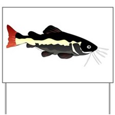 Redtailed Catfish (Audreys Amazon River) Yard Sign