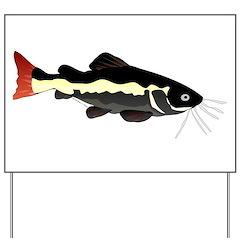 Redtailed Catfish (Audreys Amazon River) Yard Sign