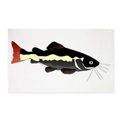 Redtailed Catfish (Audreys Amazon River) 3'x5' Are