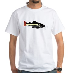 Redtailed Catfish (Audreys Amazon River) White T-S