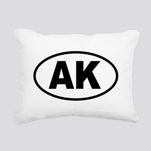 AK 1 Rectangular Canvas Pillow