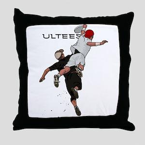 Bid over shoulder Throw Pillow