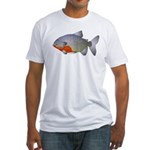 red belly piranha Fitted T-Shirt