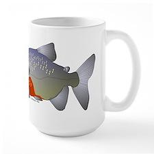 red belly piranha Large Mug