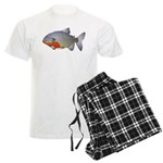 red belly piranha Men's Light Pajamas