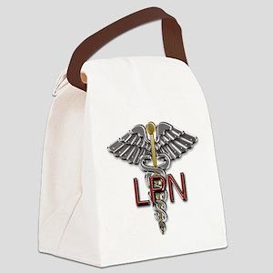 LPN Medical Symbol Canvas Lunch Bag
