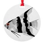 Angelfish (Amazon River) Round Ornament