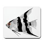 Angelfish (Amazon River) Mousepad