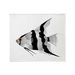 Angelfish (Amazon River) Throw Blanket
