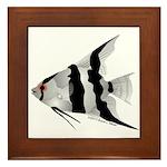 Angelfish (Amazon River) Framed Tile