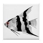 Angelfish (Amazon River) Tile Coaster