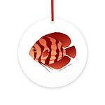 Discusfish (Discus) fish Ornament (Round)