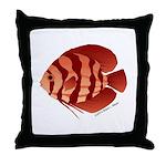 Discusfish (Discus) fish Throw Pillow