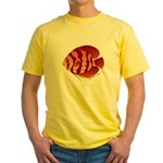 Discusfish (Discus) fish Yellow T-Shirt
