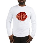 Discusfish (Discus) fish Long Sleeve T-Shirt