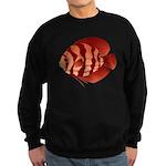 Discusfish (Discus) fish Sweatshirt (dark)
