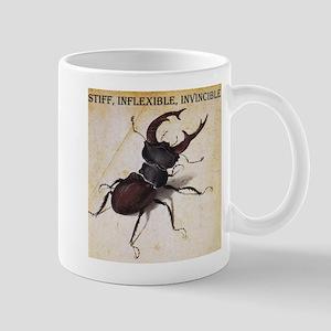 Stiff, inflexible, invincible beetle Mug
