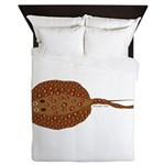 Amazon River Spotted Singray Queen Duvet