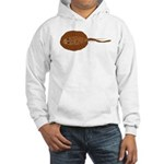 Amazon River Spotted Singray Hooded Sweatshirt