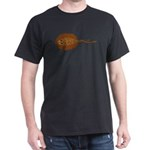 Amazon River Spotted Singray Dark T-Shirt